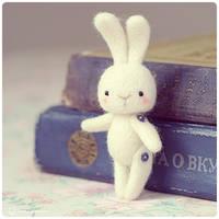 Sno Rabbit by Katy-Doll