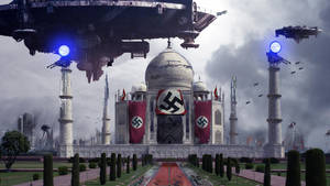 Nazi Alien Invasion by SalReaper666