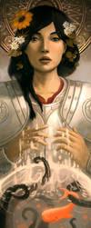 Joan of Absurdia by AzamRaharjo