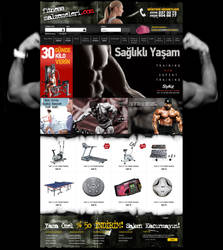 e commerce FitnessMalzemeleri by yarabandi