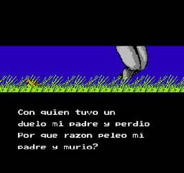Ninja Gaiden 1 NES (Espanol) Story 1 by Nosidex