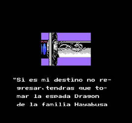 Ninja Gaiden 1 (Espanol) Story 3 by Nosidex