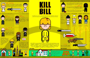 Kill Bill Infographic by Hirok-A