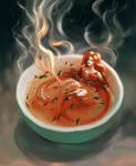 Tea Mermaid by Harkale-Linai