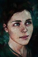 Emerald Eyes by Harkale-Linai