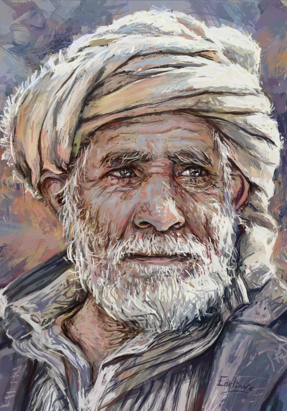 Old Man 2 by Harkale-Linai