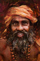 Indian Man by Harkale-Linai