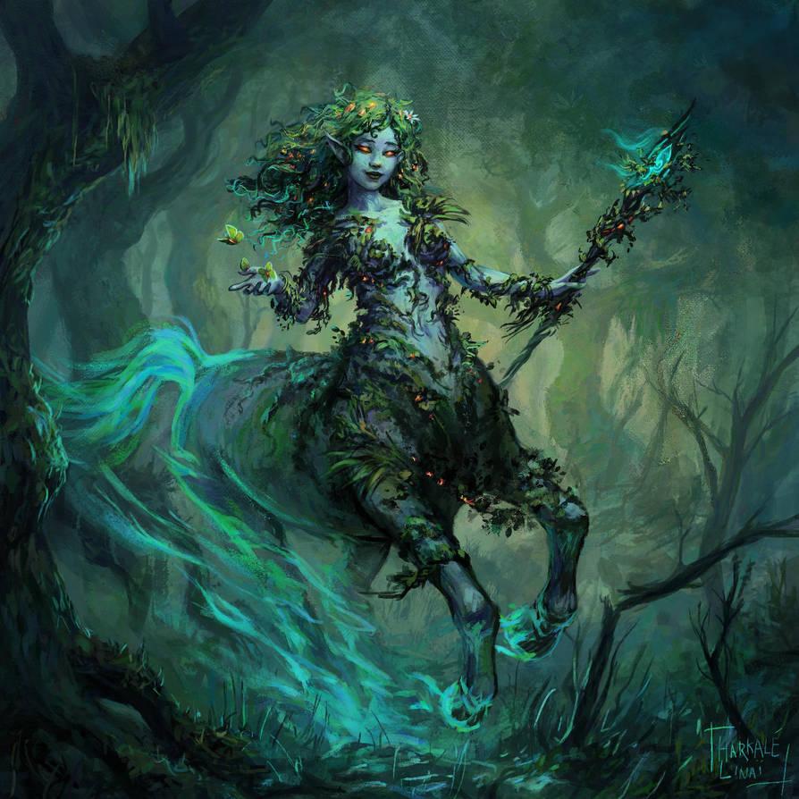 Lephia (commission) by Harkale-Linai