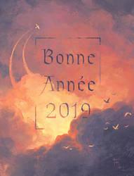Happy New Year 2019! by Harkale-Linai
