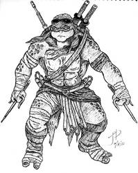 Armed Raphael - Sketch Pad by jptanchico