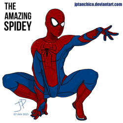 The Amazing Spidey - MS Paint by jptanchico