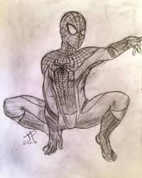 The Amazing Spidey - Sketch by jptanchico