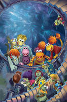 Fraggle Rock Issue 3 cover by lazesummerstone