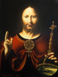 Christ benedictory. by uvar