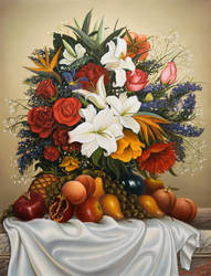 Bouquet for a gift by uvar