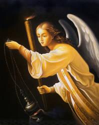 Archangel of prayer by uvar