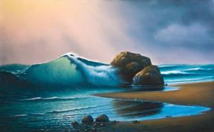 Emerald Wave by uvar
