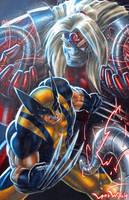 Wolverine Vs Omega Red by LordWilhelm