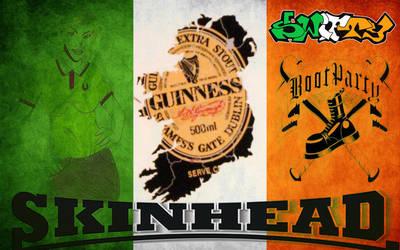 irish skinheads by PCBSWIFTY