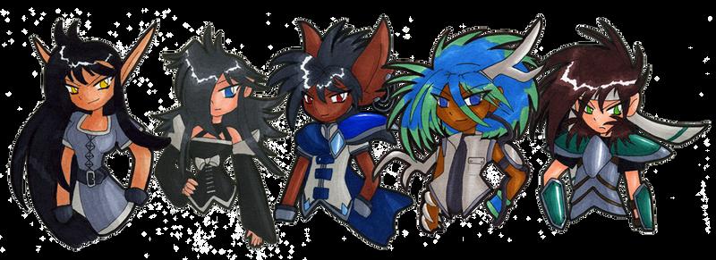 Dragons of the Realm NPCs by Zargata