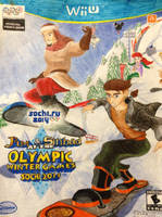 Jim and Sinbad at Sochi 2014 Olympic Winter Games by simpsonsquire