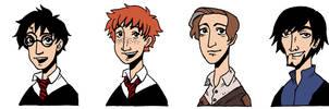 Harry Potter sticker set by Eudocia