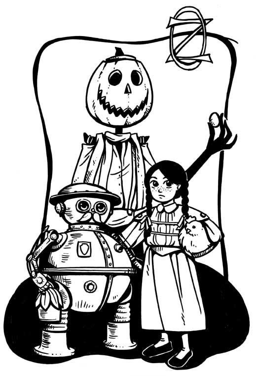 Return to Oz by Eudocia