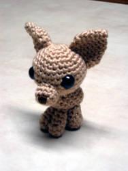 Chihuahua amigurumi by Eudocia