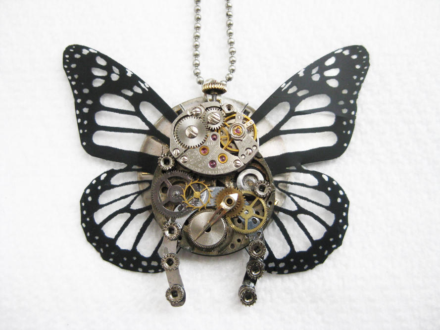 Steampunk Butterfly 2 by xxPRECIOUSMOMENTSxx