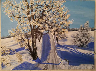 Winter.  by StrandedAutumn