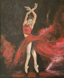 Ballet in Red by StrandedAutumn