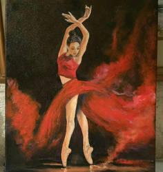 Fire Dancer by StrandedAutumn