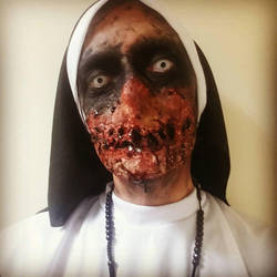 Halloween Nun 2017 by StrandedAutumn