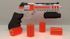 VTBER-14 Pistol by polygonbronson