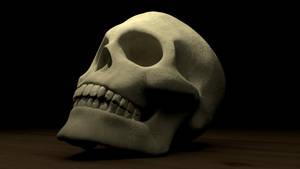 Skull by polygonbronson