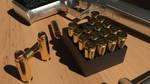 Desert Eagle .50AE Retexture Bullet Detail by polygonbronson