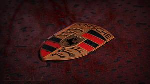 Porsche Emblem II by polygonbronson