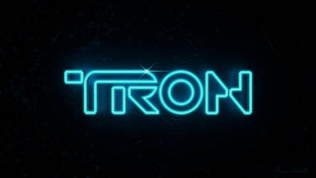 TRON Logo Beta by polygonbronson