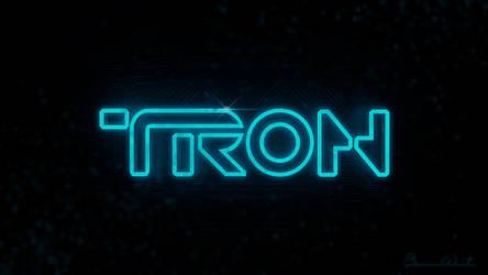 TRON Logo Alpha by polygonbronson