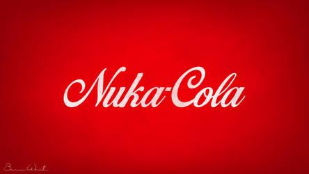 Nuka-Cola Logo Redesign Wallpaper by polygonbronson