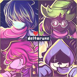 + DELTARUNE + by Mekaiime