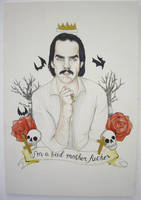Nick Cave by PsychosisSafari