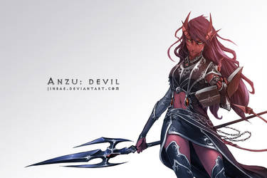 Anzu: Devil by Jinbae