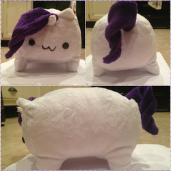 Rarity Pony Loaf by CrazyTwin13