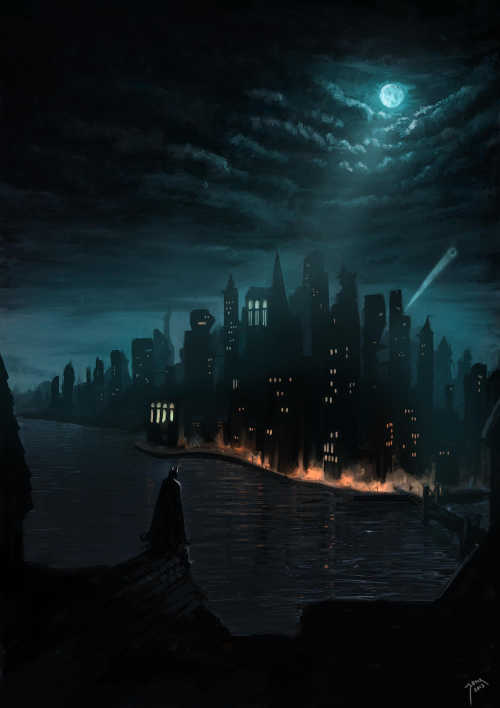 Batman 2a by Robjenx