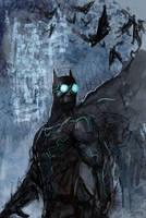 Tron Batman by Robjenx