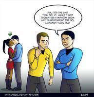 Star Trek - SPOCKBLOCKED by Irrel