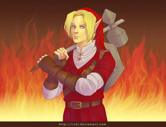 Link - Fire by Irrel