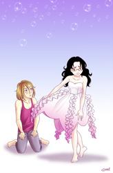 Jellyfish dress - Kuragehime by Irrel