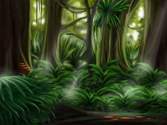 Rainforest by QueenSemat